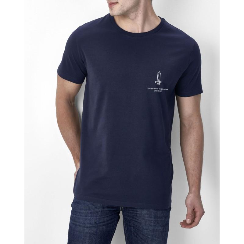 T shirt La vérité est ailleurs (soucoupe) - Blanc